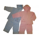 Komplektas pašiltintas kūdikiams Gamex dviejų dalių, 74 dydis
