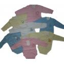 Smėlinukai kūdikiams Aga, susagstomi priekyje, 68 dydis