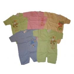 Romperiai kūdikiams Aga, priekyje susagstomi, 68 dydis