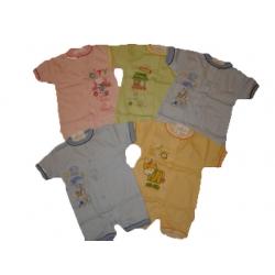 Romperiai kūdikiams Aga, priekyje susagstomi, 56 dydis