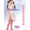 Pėdkelnės puošnios baltos Paulinka, 1/128-134 dydis